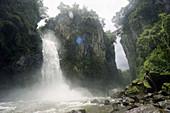 Texolo waterfall, Xico. Veracruz, Mexico