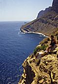 Cliffs, Serra Gelada Natural Park. Alicante province, Comunidad Valenciana, Spain