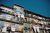 Typical façades. Porto. Portugal.