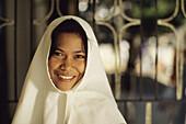 Smiling nun, Marinduque. Philippines