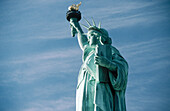 Statue of Liberty, New York harbour. USA