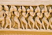 Temple carvings, Jain Temple, Osian, Rajasthan, India