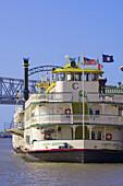 Riverboat Cajun Queen, Riverwalk, New Orleans, Louisiana, USA
