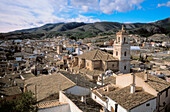 Caravaca de la Cruz. Medieval neighbourhood. Salvador church. Murcia province. Spain.