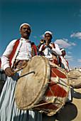 Festival near Tataouine. Folklore. Tunisia.