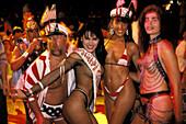 Carnival parade. Rio de Janeiro. Brazil