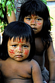 Indigenous Children. Amazon. Brazil.