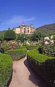 Colegiata de Sta. María (S. XVI), Camino de Santiago, Villafranca del Bierzo, Espacio Natural de la Sierra de Ancares, León province, Castilla y León. Spain