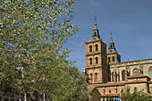 Gothic cathedral of Santa María (S. XV-XVI), Astorga, Camino de Santiago, León province, Castilla y León, Spain.