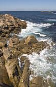 Seascape. La Coruña. Galicia. Spain