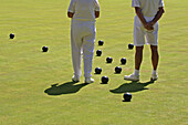 Lawn bowling. Vancouver, Canada