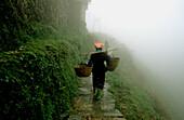 Yao Woman. Longshen. Guangxi Province. China