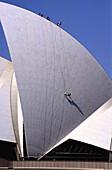 Climbers. Sydney Opera House. Sydney. Australia