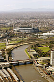 Melbourne Cricket Ground (MCG). Yarra Park, Melbourne, Australia