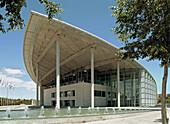 Palacio de Congresos (Convention Center), by Sir Norman Foster, 1994-1998. Valencia. Comunidad Valenciana. Spain