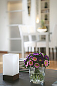 Vase of flowers in the living room, Decoration, Home, Styling