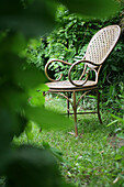 Chair in a garden, Tranquility, Quietness