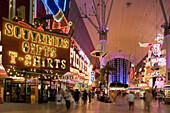 The Freemont Street Experience in Downtown Las Vegas, Las Vegas, Nevada, USA