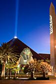 Luxor Hotel and Casino in Las Vegas, Nevada, USA