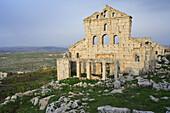 Byzantine ruins, Baqirha, Syria