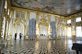 Great palace interiors (1743-1756), Architects Savva Chevakinsky, Francesco Bartolomeo Rastrelli, Pushkin, near St.Petersburg, Russia