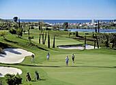 Flamingos golf course, Estepona. Costa del Sol, Málaga province. Andalusia, Spain