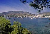 Coastal town of Cadaqués. Girona province. Costa Brava. Catalunya. Spain.