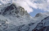 National Park des Ecrins, massif des Ecrins, La Meije, snow and glaciers, Haute Dauphiné, France
