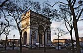 Place Charles de Gaulle, Arc de Triomphe. Paris. France