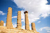 Temple of Juno, Valley of the Temples, Agrigento. Sicily, Italy