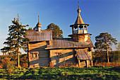 Chapel of the Blessed Virgin's birth, Manga. Karelia, Russia