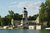 Monument to Alfonso XII, Retiro Park, Madrid, Spain