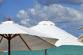 Beach, Beaches, Blue, Close up, Close-up, Closeup, Cloud, Clouds, Coast, Coastal, Color, Colour, Daytime, Detail, Details, Exterior, Holiday, Holidays, Leisure, Object, Objects, Outdoor, Outdoors, Outside, Parasol, Remote, Sea, Shore, Shores, Summer, Summ