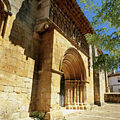 Romanesque architecture. Palencia province. Spain.