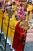 An annual festival near Vietnams former capital of Hoa Lu. Tam Coc. Ninh Binh province. Vietnam.