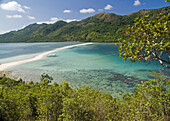 tropical fantasy, beautiful Snake Island in the Bacuit Archipelago, Palawan, Philippines