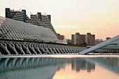 City of Arts and Sciences, Valencia. Comunidad Valenciana, Spain