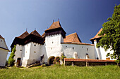 Viscri, The village is mostly known for its highly fortified church, which was originally built around 1100 AD. It is part of the villages with fortified churches in Transylvania, designated in 1993 as a World Heritage Site by UNESCO.