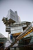 Nord/LB building, architects: Behnisch, Behnisch & Partner, at city centre, Hanover, Germany