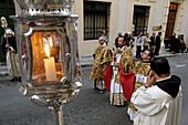 Our Lady of Sorrows procession. Valletta. Malta
