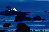 Lighthouse at Crescent city. Northern California Coast. USA