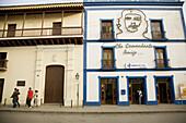 Town centre. Post office. Camagüey. Cuba.