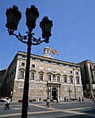 Palau de la Generalitat (seat of the catalan government). Barcelona. Spain