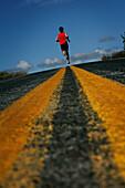 Runner, Hood to Coast Relay, Oregon, USA