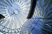 Cupola of the Sony Center, Potsdamer Platz, Berlin, Germany