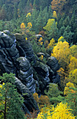 Felsenburg Neurathen (rock castle Neurathen), Saxon Switzerland, Elbe Sandstone Mountains, Saxony, Germany