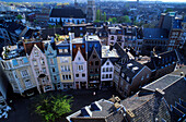 Europe, Germany, North Rhine-Westphalia, Aachen, view of Aachen's historic town centre