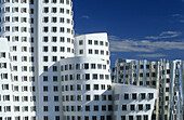 Gehry Buildings, Neuer Zollhof, Media Harbor, Dusseldorf, North Rhine-Westphalia, Germany