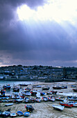 Europe, England, Cornwall, harbour in St. Ives