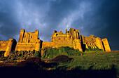 Europe, Great Britain, England, Bamburgh, Northumberland, Bamburgh Castle
